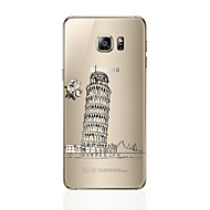 Для Прозрачный С узором Кейс для Задняя крышка Кейс для Панорама города Мягкий TPU для Samsung S7 edge S7 S6 edge plus S6 edge S6 S5 S4