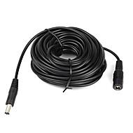 Cablu prelungitor de 10 m (15 picioare) de 2.1x5.5mm dc 12V de înaltă calitate