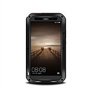 Для Защита от удара Защита от пыли Защита от влаги Кейс для Чехол Кейс для Один цвет Твердый Металл для Huawei Huawei Mate 9
