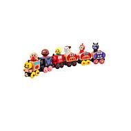 دمى عرائس لعبة سيارات ألعاب قطار ألعاب حداثة Train بلاستيك كرتون قطع صبيان فتيات عيد الأطفال هدية