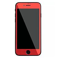 Недорогие Защитные плёнки для экрана iPhone-Защитная плёнка для экрана Apple для iPhone 7 Plus Закаленное стекло 1 ед. Защитная пленка на всё устройство Ультратонкий Уровень защиты