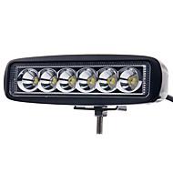 お買い得  -JIAWEN 車載 電球 18W ハイパフォーマンスLED LED 外部照明 / テールライト / 作業灯