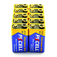 pkcell 6F22 9V cink-szén elem 10 pack extra nagy teherbírású