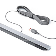 Wired Infrared Ray Sensor Bar Signal Receiver for Nintendo Wii/Wii U - SLIVER