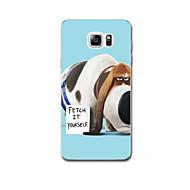 Для Ультратонкий С узором Кейс для Задняя крышка Кейс для С собакой Мягкий TPU для Samsung Note 5 Note 4