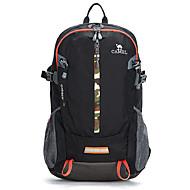 30 L 백패킹 배낭 / 배낭 캠핑 & 하이킹 / 등산 야외 / 프랙티스 착용할 수 있는 / 통기성 / 야광 레드 / 블랙 / 블루 나이론 CAMEL