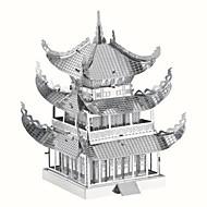 voordelige Speelgoed & Hobby-3D-puzzels Legpuzzel Metalen puzzels Modelbouwsets Beroemd gebouw Chinese architectuur Architectuur 3D DHZ Creatief Chic & Modern Elegant