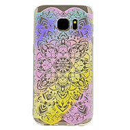 галактики Samsung s8 плюс s7 эйфель узор башни мягкий материал телефона ТПУ случае для s6 s8