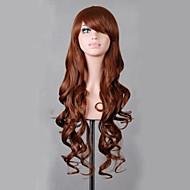 お買い得  -人工毛ウィッグ / コスチュームウィッグ ウェーブ ブロンド 合成 レッド / ブロンド / ピンク かつら 女性用 非常に長いです キャップレス ブロンド