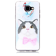 voordelige Galaxy A7(2016) Hoesjes / covers-hoesje Voor Samsung Galaxy A5(2017) A3(2017) Patroon Achterkantje Kat Zacht TPU voor A3 (2017) A5 (2017) A7 (2017) A7(2016) A5(2016)