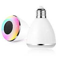 Недорогие Интеллектуальные огни-bl08a умного Bluetooth динамик лампа 4,0 музыки водить лампу Е27 умного свет праздник украшения партии подарок