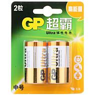 billige Batterier & Opladere-gp gp14au-2il2 c alikaline batteri 1.5V 2 pak