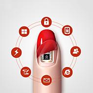 levne -6 pcs Glitter nail art manikúra pedikúra Módní Denní