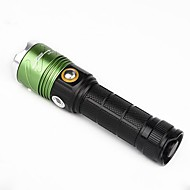 U'King Linternas LED LED 2000 lm 3 Modo Cree XM-L T6 Enfoque Ajustable Detector de Falsificaciones Regulable Zoomable para