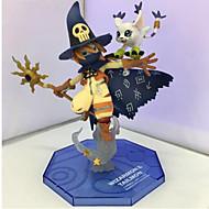 저렴한 -애니메이션 액션 피규어 에서 영감을 받다 디지털 몬스터 / Digimons 코스프레 14 CM 모델 완구 인형 장난감