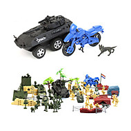 cheap Toys & Hobbies-Action Figure Display Model Toys Novelty Simulation Plastic 40 Pieces