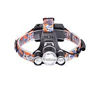 preiswerte Taschenlampen, Laternen & Lichter-3000 lm Stirnlampen / Fahrradlicht LED 3 Modus - U'King Zoomable- / einstellbarer Fokus / Kompakte Größe