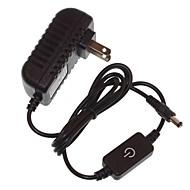abordables Adaptadores-SENCART 1 pieza 120cm 110-240V Regulable Regulador de Luz Plástico + + PCB Resistente al agua Cubierta Epoxy / ABS