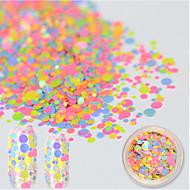 お買い得  ネイルセット-1 bottle アートステッカーネイル グリッター素材 & パウダー メイクアップ化粧品 ネイルアートデザイン