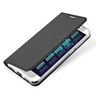 Для Бумажник для карт Флип Магнитный Кейс для Чехол Кейс для Один цвет Твердый Искусственная кожа для HuaweiHuawei P9 Huawei P9 Lite