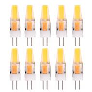 2W G4 LED betűzős izzók T 1 led COB Dekoratív Meleg fehér Hideg fehér 150-200lm 2800-3200/6000-6500K AC 12V