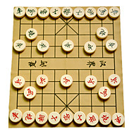 cheap Toy & Game-Board Game Chess Game Toys Circular Wood Chinese Style Pieces Unisex Gift