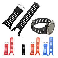 Недорогие Аксессуары для смарт-часов-Ремешок для часов для SUUNTO AMBIT 3 Suunto Спортивный ремешок Pезина Повязка на запястье