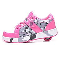 子供用 スケートシューズ アンチスリップ 高通気性 耐摩耗性 調整可能 ブラック/ブルー/ピンク