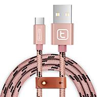 povoljno -USB 3.0 Tip C U obliku pletenice Kabel Za Samsung Huawei Sony Nokia HTC Motorola LG Lenovo Xiaomi 150 cm Najlon Aluminij TPE