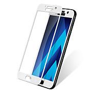 Недорогие Чехлы и кейсы для Galaxy A-Защитная плёнка для экрана Samsung Galaxy для A3 (2017) Закаленное стекло 1 ед. Защитная пленка для экрана Взрывозащищенный 2.5D
