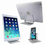 Недорогие Подставки и стенды для MacBook-Регулируемая подставка Macbook Для планшета Другое Таблетка Мобильный телефон ИМАК Other Алюминий Macbook Для планшета Другое Таблетка
