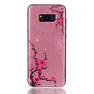 Кейс для Назначение SSamsung Galaxy S8 Plus S8 IMD С узором Задняя крышка Сияние и блеск Цветы Твердый PC для S8 S8 Plus S7 edge S7