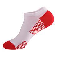 olcso Sportruházat-Rövid zoknik Férfi Légáteresztő Upijanje znoja Slabo zatezanje-6 pár mert Jóga Pilates Golf Kerékpározás/Kerékpár LeisureSports Futball