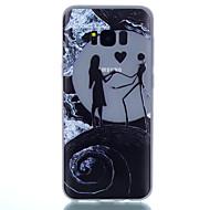 abordables Galaxy S7 Carcasas / Fundas-Funda Para Samsung Galaxy S8 Plus S8 Fosforescente Congelada Traslúcido Diseños Funda Trasera Corazón Suave TPU para S8 Plus S8 S7 edge
