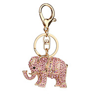 cheap Toys & Hobbies-Key Chain Toys Key Chain Elephant Metal 1 Pieces Not Specified Christmas Valentine's Day Gift