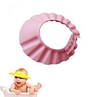 baratos Gadgets de Banheiro-1 pc ajustável chapéu do bebê criança crianças shampoo banho de banho touca de banho lavar o cabelo escudo viseira tampas diretas para crianças cuidados com o bebê