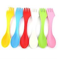 abordables Bolígrafos y lapiceros-Plástico Tenedor Cucharita de azúcar Cucharas Tenedores Cuchillos