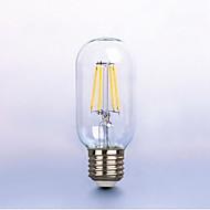 olcso LED izzólámpák-1db 6w e26 / e27 led izzók t45 6 leds cob dimmable dekoratív melegfehér 450-550lm 2300-2700k ac 220-240v