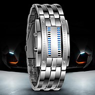 Luxury Oversized Fashion LED Binary Wrist Watch with Date Display Waterproof Sports Wrist Watches(Assorted Colors) Cool Watch Unique Watch