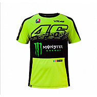 motogp camiseta equitación ternos motocicleta vr46 caballero locy algodón de manga corta juego de carreras camiseta