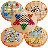 preiswerte Spielzeuge & Spiele-Bretsspiele Spielzeuge Kreisförmig Holz Stücke Kinder Unisex Geschenk