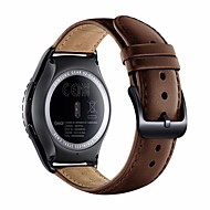 για samsung εργαλεία s2 κλασικό sm-r732 / r7320 έξυπνο ρολόι μπάντα ρολόι γνήσιο δέρμα αντικατάστασης