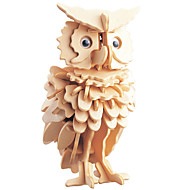 cheap Toy & Game-3D Puzzle Jigsaw Puzzle Wooden Puzzle Owl DIY 1pcs Kid's Unisex Gift