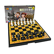 cheap Toy & Game-Board Game Chess Game Chess Toys Magnetic Square Plastic Metal Chinese Style Pieces Unisex Gift