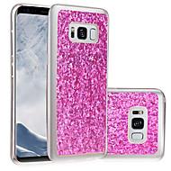 Недорогие Чехлы и кейсы для Galaxy S8 Plus-Кейс для Назначение SSamsung Galaxy S8 Plus / S8 IMD / Своими руками Кейс на заднюю панель Сияние и блеск Мягкий ТПУ для S8 Plus / S8 / S5