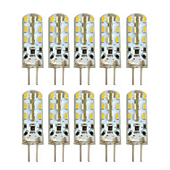 2W G4 LED Bi-pin Lights T 24 leds SMD 3014 Warm White Cold White 100-200lm 2800-3200/6000-6500K AC 220-240 DC 12V