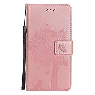 Til Sony Xperia xz e5 pu læder kat og træ mønster telefon taske c5 e4 xa c5 x m5 m4 m2 z5 z4 z3 xa ultra z5 premium