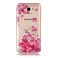 Kılıf Na Samsung Galaxy J7 Prime IMD Przezroczyste Wzór Etui na tył Kwiaty Miękkie TPU na J7 (2016) J7 Prime J7 J5 (2016) J5 J3 J3 (2016)