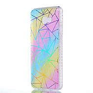 tok Για Samsung Galaxy J7 (2016) J5 (2016) Ανθεκτική σε πτώσεις Επιμεταλλωμένη Ημιδιαφανές Με σχέδια Πίσω Κάλυμμα Γραμμές / Κύματα Μαλακή