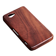 olcso Mobiltelefon tokok-cornmi Sony Xperia z1mini d5503 z1 kompakt z1min rózsafa diófa kemény fából készült hátsó fedélcsésze